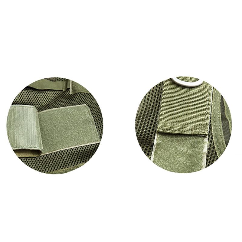 Chaleco-de-hombres-Chaleco-corporal-de-camuflaje-armadura-molle-Equipo-de-j-Y8P5 miniatura 36