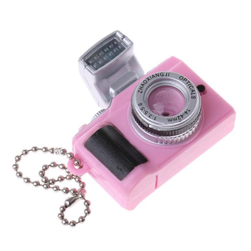 Escala-1-8-Camara-reflex-digital-miniatura-de-casa-de-munecas-Accesorio-K7P2 miniatura 4