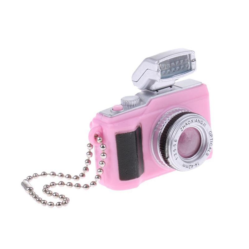 Escala-1-8-Camara-reflex-digital-miniatura-de-casa-de-munecas-Accesorio-K7P2 miniatura 5
