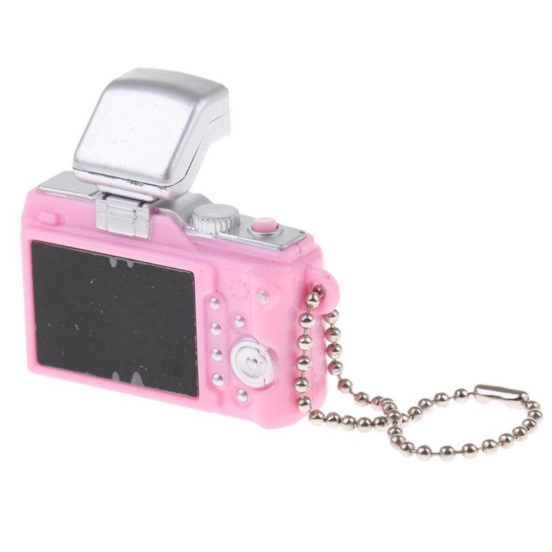 Escala-1-8-Camara-reflex-digital-miniatura-de-casa-de-munecas-Accesorio-K7P2 miniatura 6