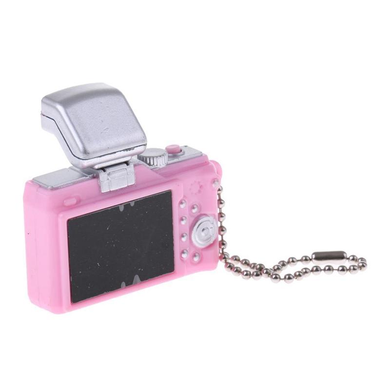 Escala-1-8-Camara-reflex-digital-miniatura-de-casa-de-munecas-Accesorio-K7P2 miniatura 7