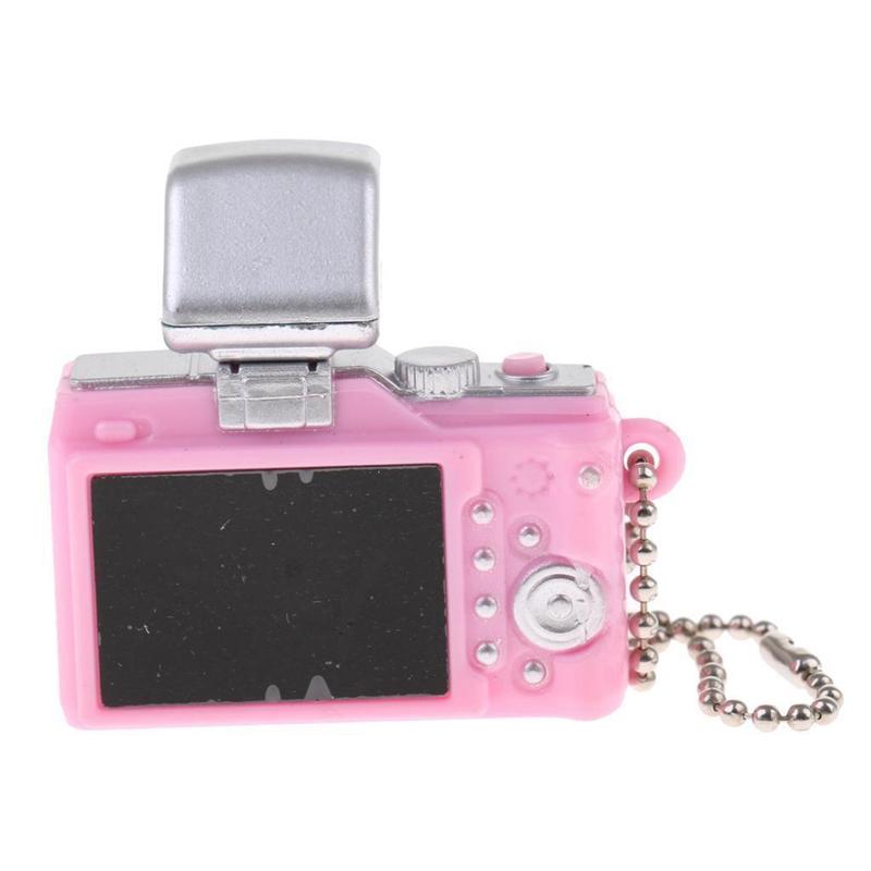 Escala-1-8-Camara-reflex-digital-miniatura-de-casa-de-munecas-Accesorio-K7P2 miniatura 8