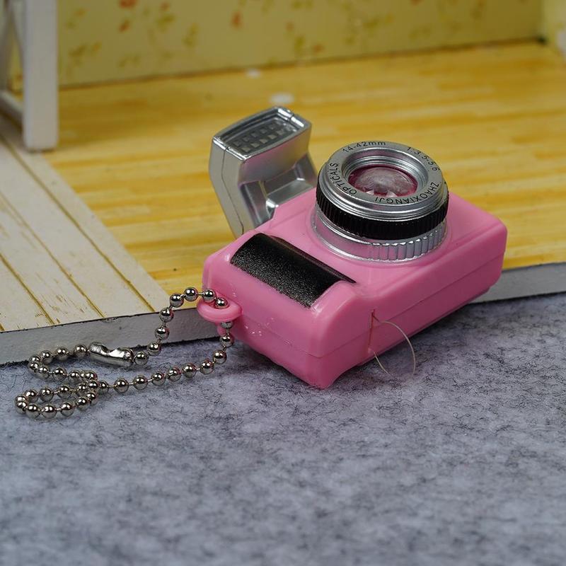 Escala-1-8-Camara-reflex-digital-miniatura-de-casa-de-munecas-Accesorio-K7P2 miniatura 11