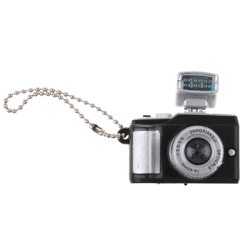 Escala-1-8-Camara-reflex-digital-miniatura-de-casa-de-munecas-Accesorio-K7P2 miniatura 13
