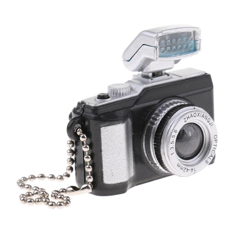 Escala-1-8-Camara-reflex-digital-miniatura-de-casa-de-munecas-Accesorio-K7P2 miniatura 14