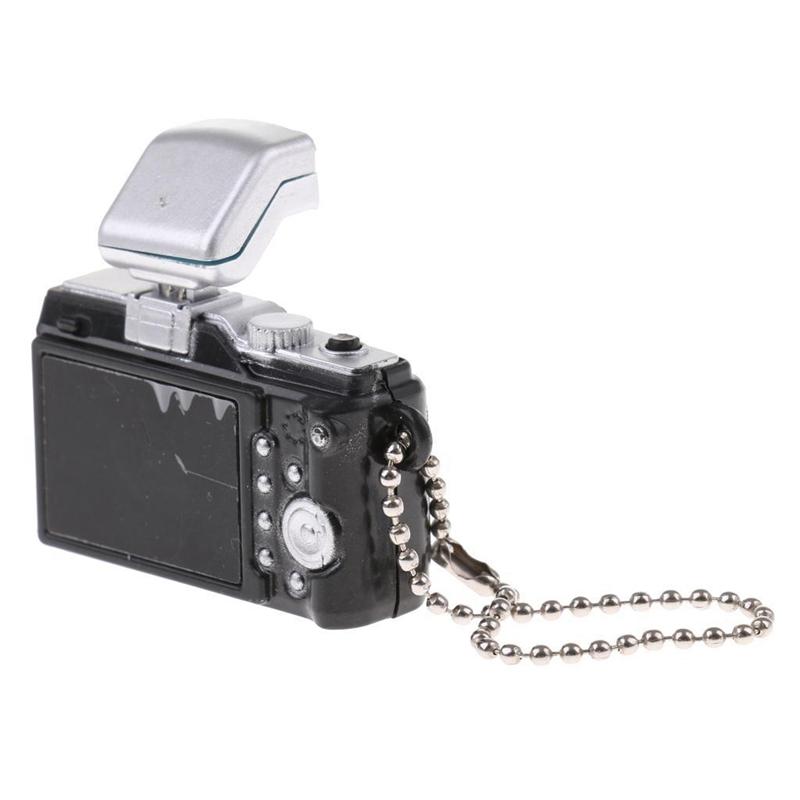 Escala-1-8-Camara-reflex-digital-miniatura-de-casa-de-munecas-Accesorio-K7P2 miniatura 15