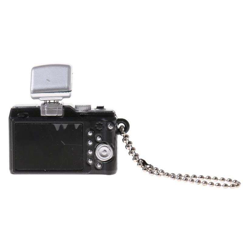 Escala-1-8-Camara-reflex-digital-miniatura-de-casa-de-munecas-Accesorio-K7P2 miniatura 16