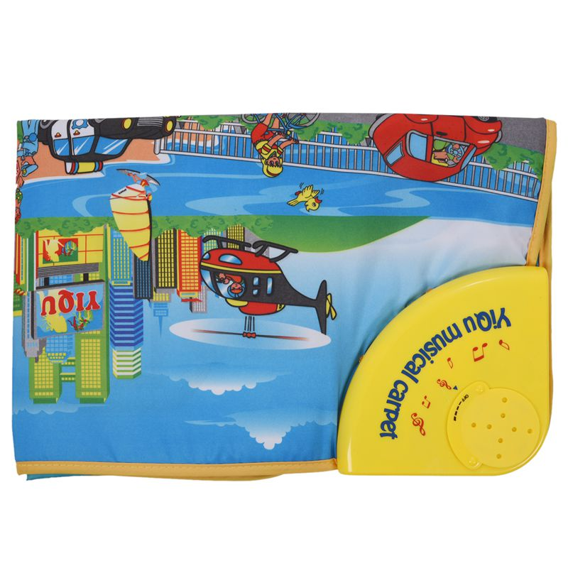 Toys (0 - 12 Months) Reliable 1x yiqu 1 Yellow + Color Nylon Cloth + Printed Circuit + Abs Cartoon City Tw9z4