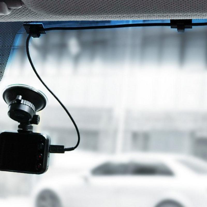 20pcs-Clips-de-cable-de-voiture-adhesifs-Enrouleur-de-cable-Attache-de-fil-de-1M miniature 3