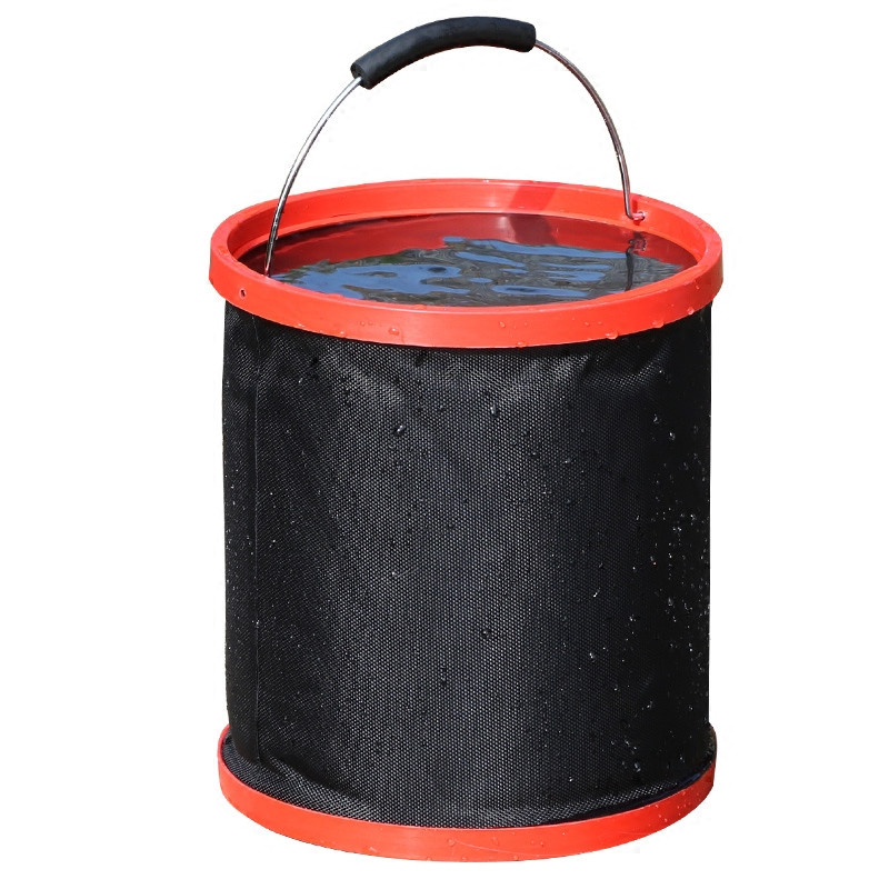 10X(12L Thickened Thickened Thickened Oxford Folding Water Bucket Outdoor Travel Camping Fishi U1U9) f77650
