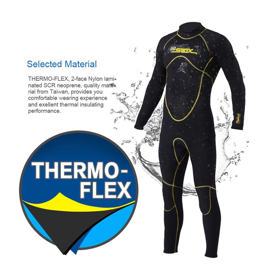 Suds neopreno slinx etiqueta buceo neopreno Suds traje 3mm Triathlon mojado traje tauchera r6t3 3c4651