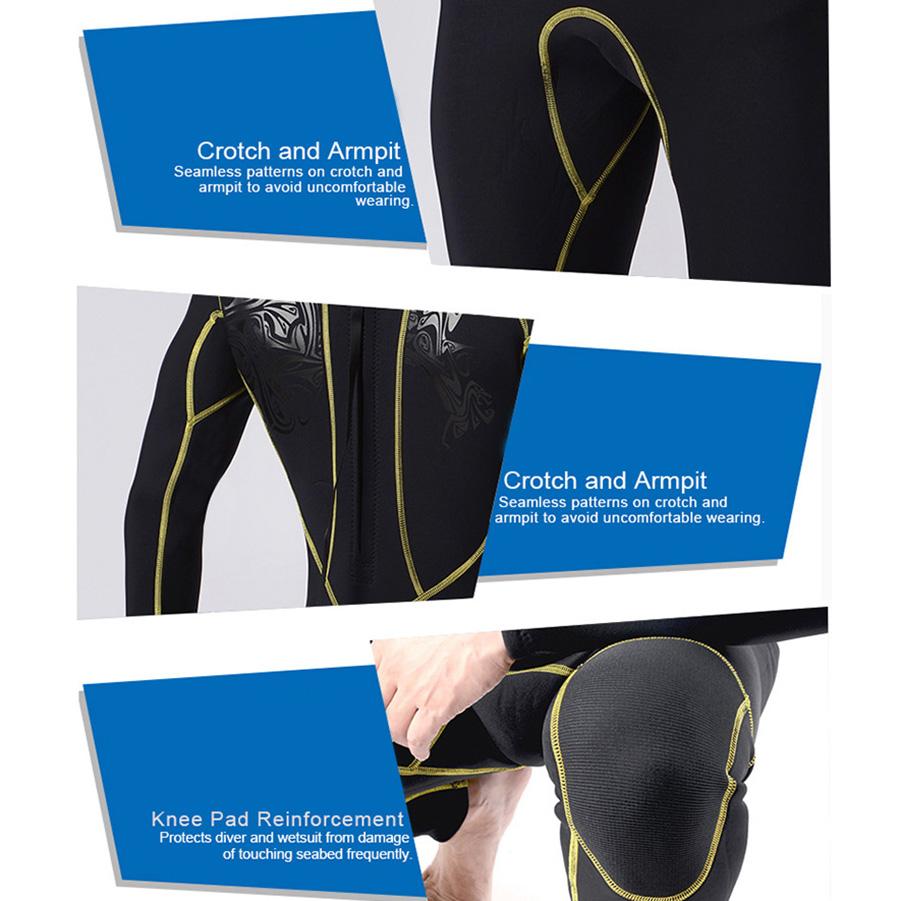 Suds slinx etiqueta buceo Triathlon neopreno traje 3mm Triathlon buceo mojado traje tauchera r6t3 e34ad1