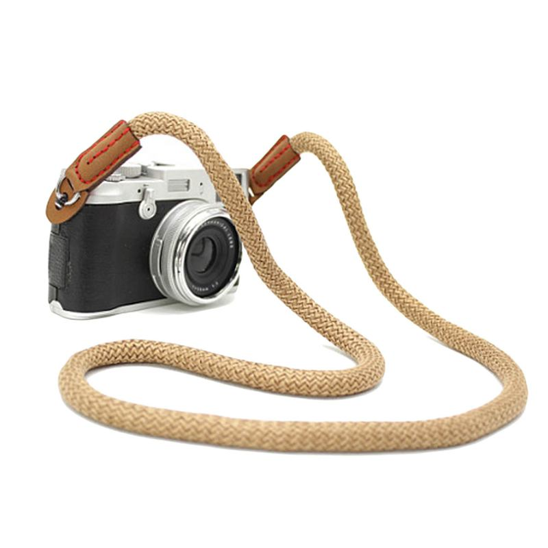 miniatura 12 - 100cm spalla elegante cotone Camera Neck Strap Belt per Mirrorless fotocame H1J4