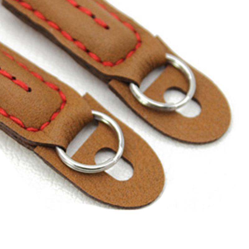 miniatura 17 - 100cm spalla elegante cotone Camera Neck Strap Belt per Mirrorless fotocame H1J4