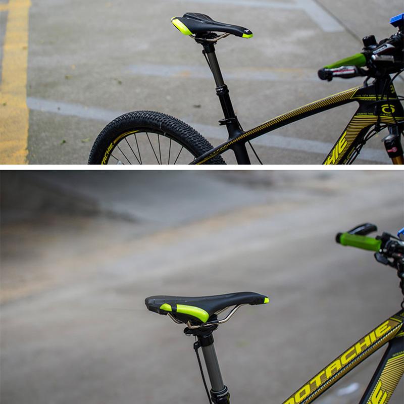 Promend-Bicycle-Saddle-Seat-Mat-PU-Leather-Road-Bike-Saddle-MTB-Cycling-Rac-O3H5