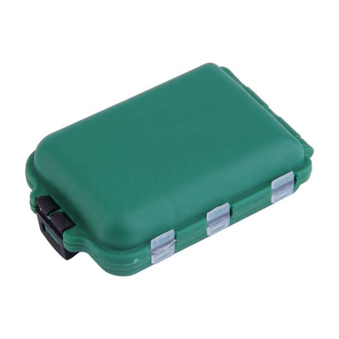 Caja-de-aparejo-de-pesca-de-utilidad-de-10-enrejados-Senuelos-Ganchos-W2B8 miniatura 16
