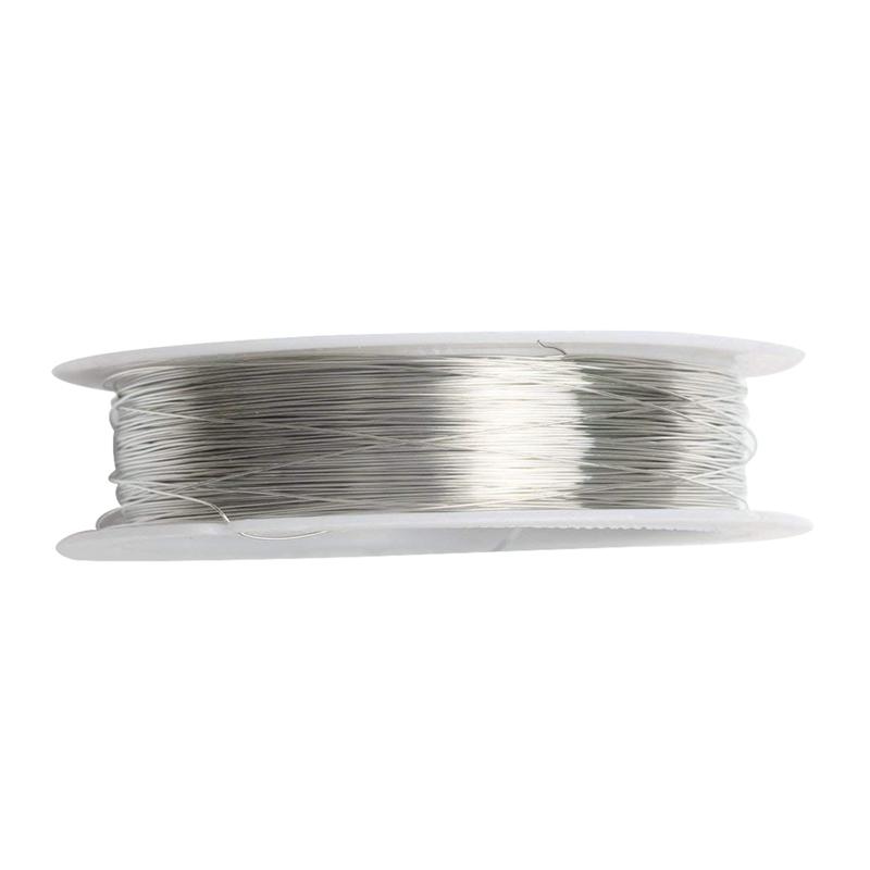 rollo-de-cinta-22m-alambre-metal-para-joyeria-fabricacion-artesanal-0-3mm-O8Q3 miniatura 3