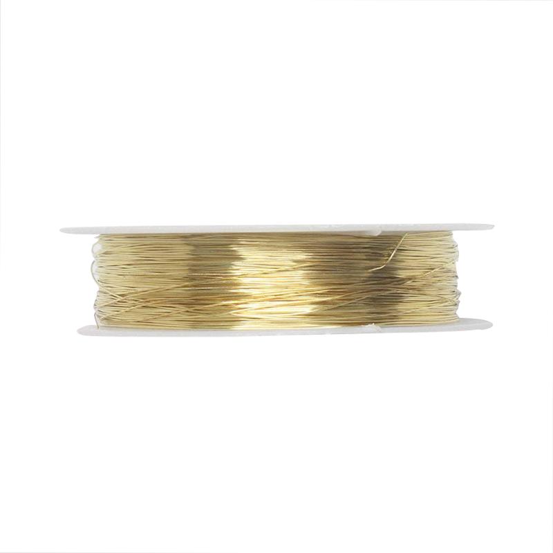 rollo-de-cinta-22m-alambre-metal-para-joyeria-fabricacion-artesanal-0-3mm-O8Q3 miniatura 10