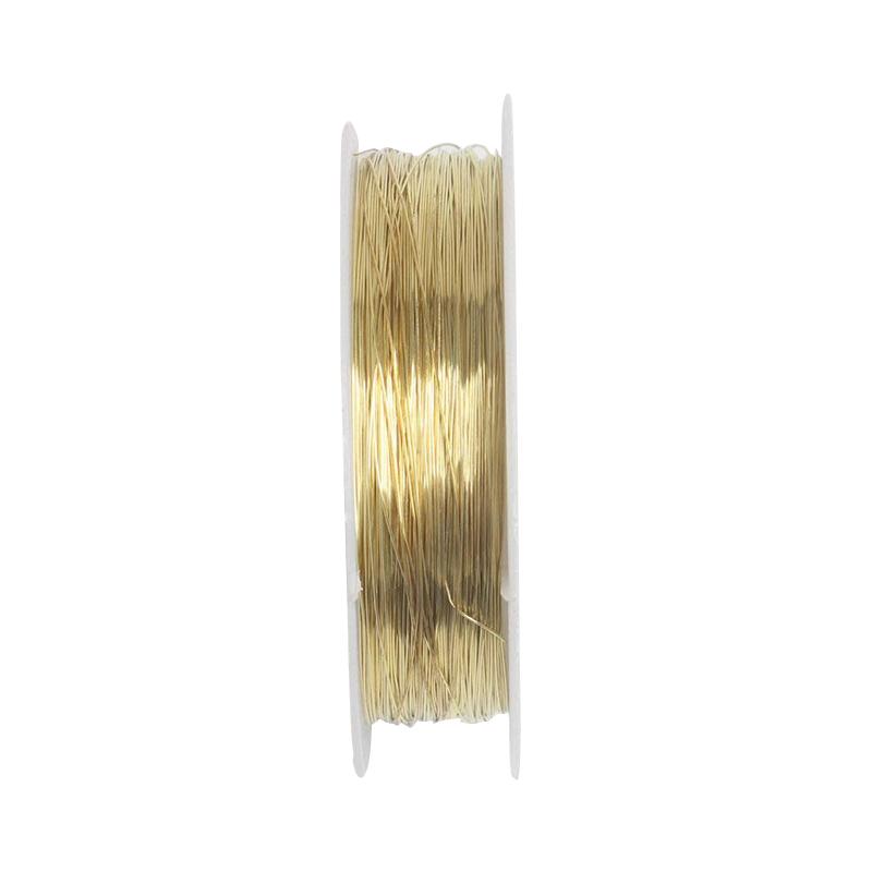 rollo-de-cinta-22m-alambre-metal-para-joyeria-fabricacion-artesanal-0-3mm-O8Q3 miniatura 11