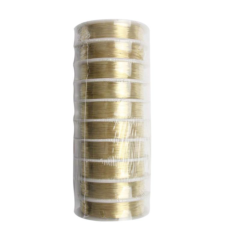 rollo-de-cinta-22m-alambre-metal-para-joyeria-fabricacion-artesanal-0-3mm-O8Q3 miniatura 12