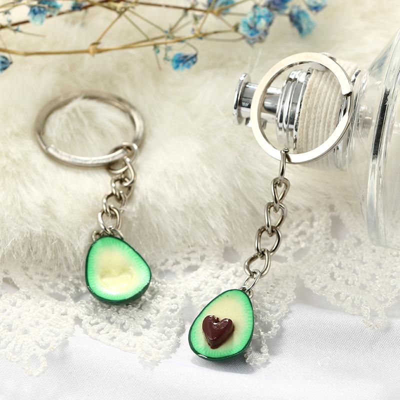 Cute-green-avocado-friendship-keychain-set-hearts-asymmetric-bff-avocado-gi-Y8J2 thumbnail 7