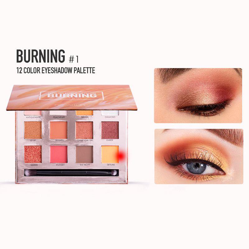 Glazed 18 Color Nude Shining Eyeshadow Palette Makeup