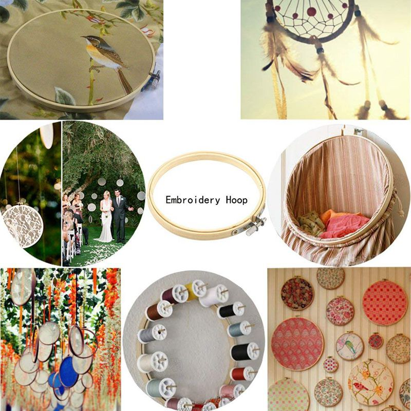 4-Pieces-Embroidery-Hoops-Set-Bamboo-Circle-Cross-Stitch-Hoop-Ring-for-DIY-F8S7