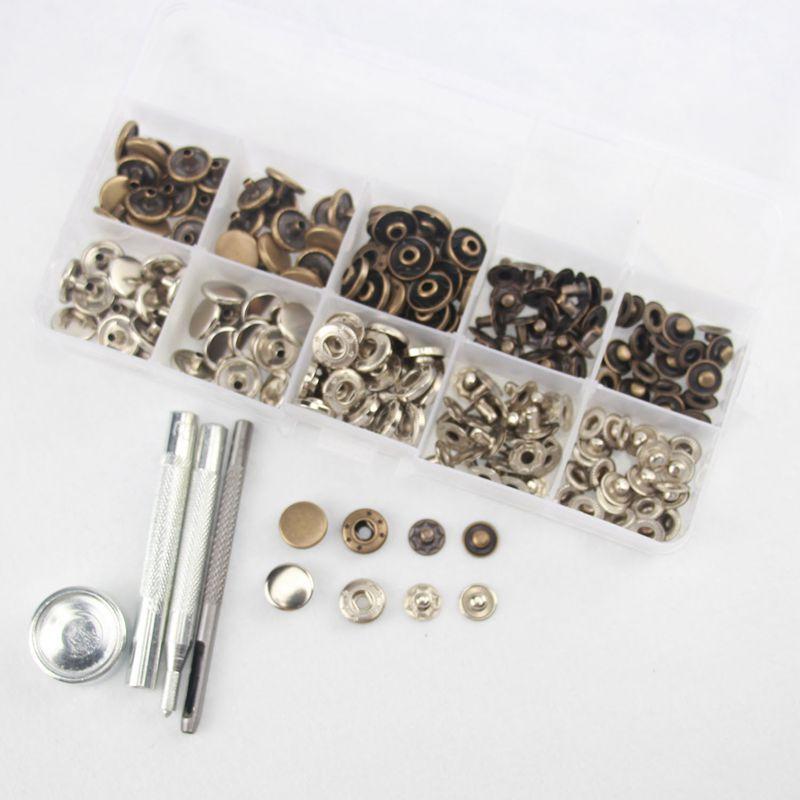 84ccf160dd9f Couleur  Argent + bronze. Material  Cuivre Diametre du bouton  12,5mm. Bouton  argente  25 sets (1 set comprend 4 parties) Bouton en bronze  25  ensembles(1 ...