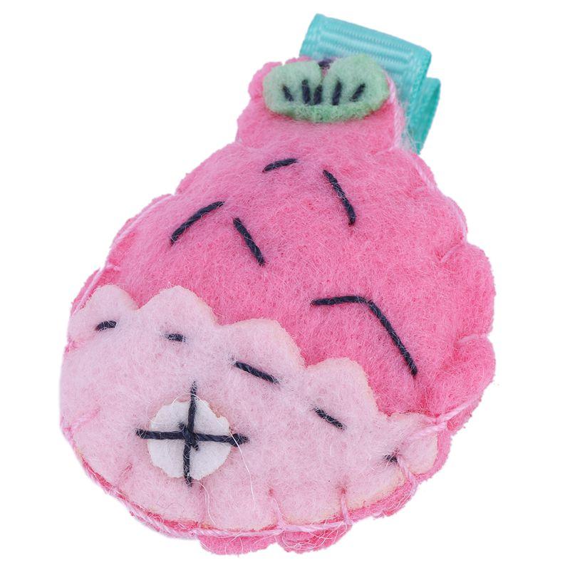 6Pcs Cute Baby Girls Hair Clips Handmade Fabric Bowknot Crown Hairpins Todd K5E1