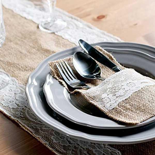 Pouch-Cutlery-Holder-Decoration-Favor-rustic-wedding-decor-vintage-wedding-S4K9