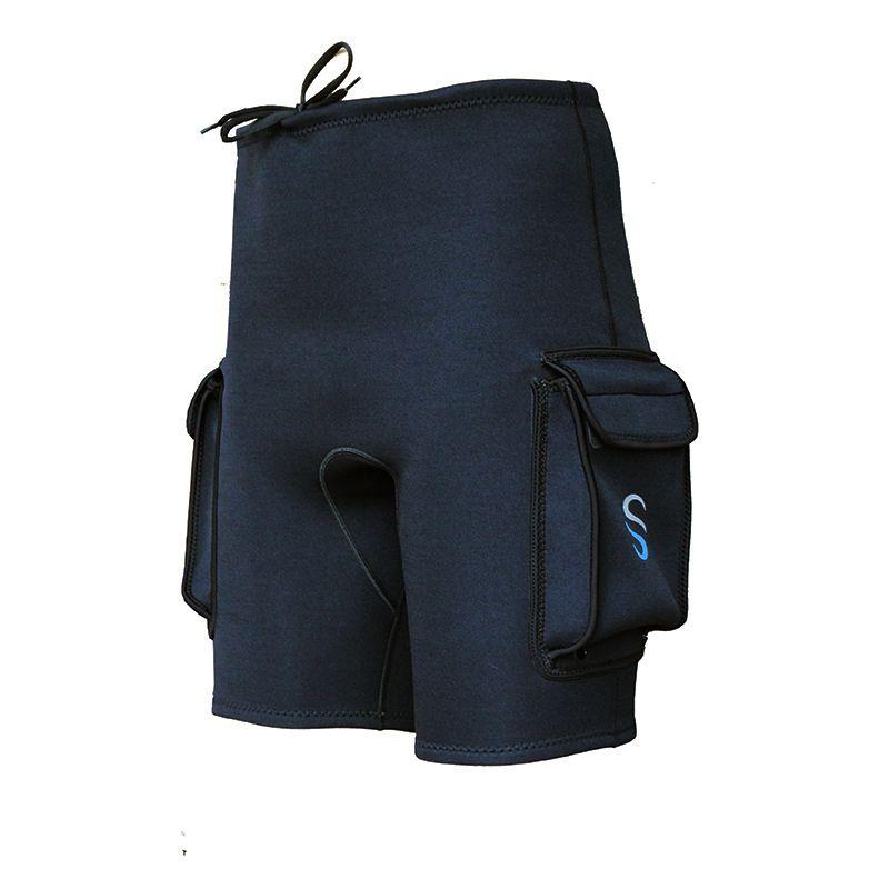 SLINX-3mm-Neoprene-Wetsuit-Tech-Shorts-Snorkeling-Scuba-Diving-Equipment-Su-F6P6 thumbnail 3