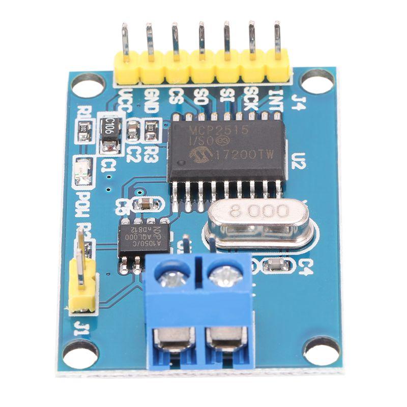 mcp2515 tja1050 empfaenger spi 51 microcontroller programm. Black Bedroom Furniture Sets. Home Design Ideas