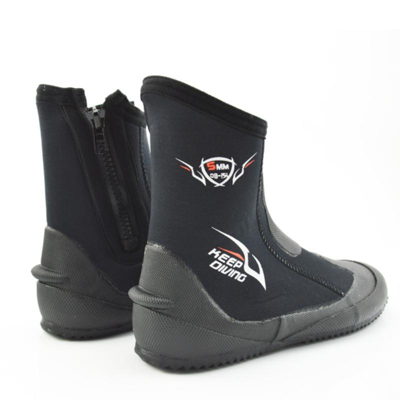 1X-KEEP-DIVING-5MM-Neopren-Scuba-Diving-Boots-Wasser-Schuhe-Winter-vulkanis-V6K3 Indexbild 3