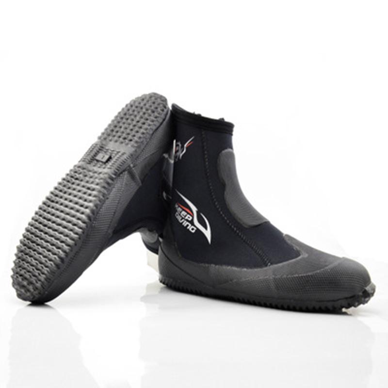 1X-KEEP-DIVING-5MM-Neopren-Scuba-Diving-Boots-Wasser-Schuhe-Winter-vulkanis-V6K3 Indexbild 4
