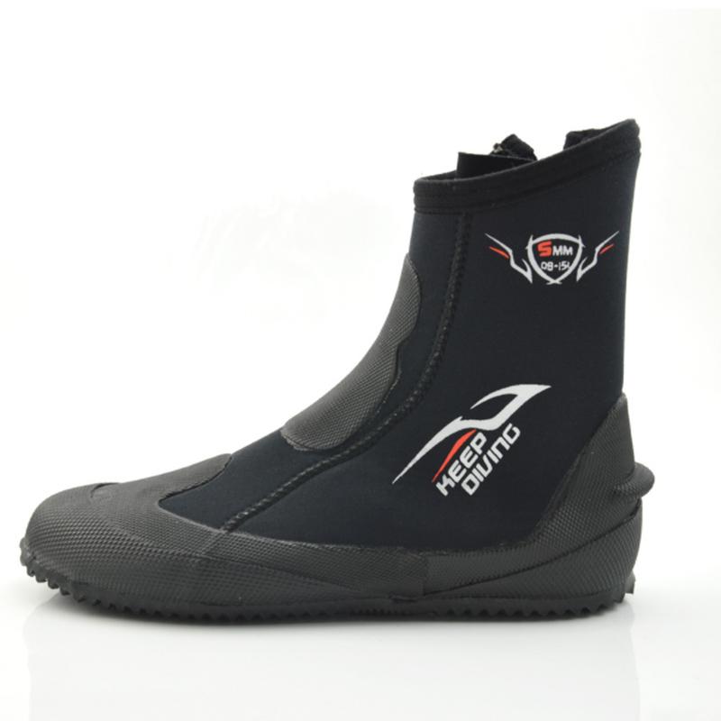 1X-KEEP-DIVING-5MM-Neopren-Scuba-Diving-Boots-Wasser-Schuhe-Winter-vulkanis-V6K3 Indexbild 2