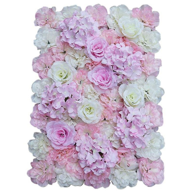 Kuenstliche Seidenblume Wand Diy Hochzeit Hauptstrasse Dekoration