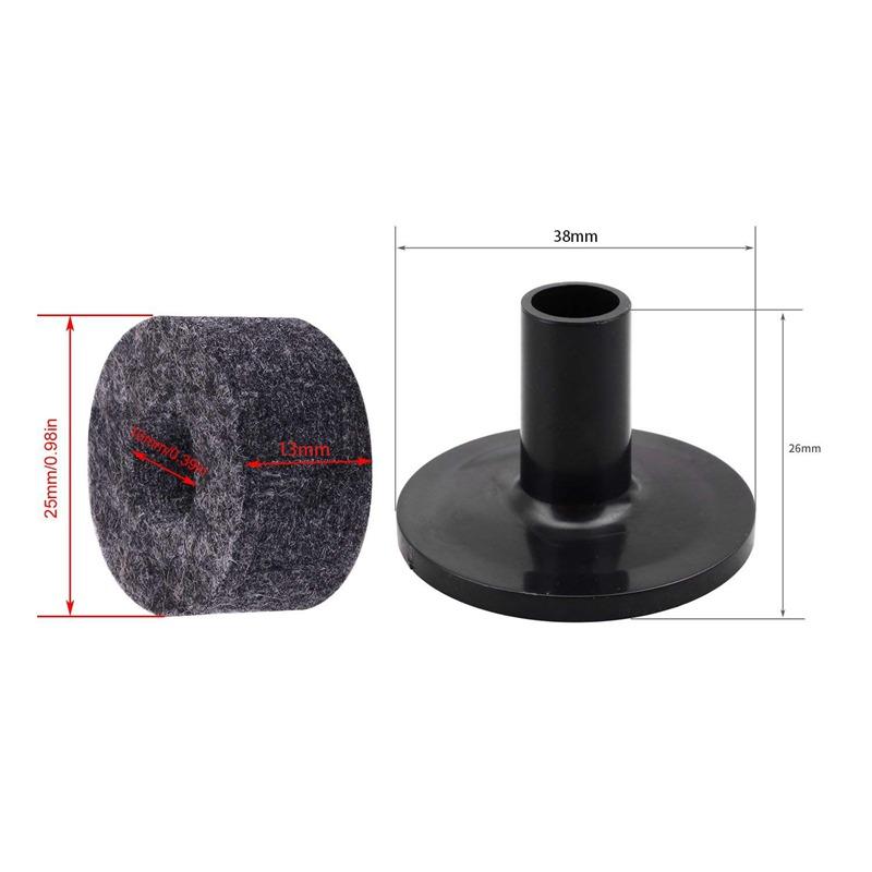 Beckenstaender Filzscheibe und Kunststofftrommel Beckenstaender Sleeves E I3 10X