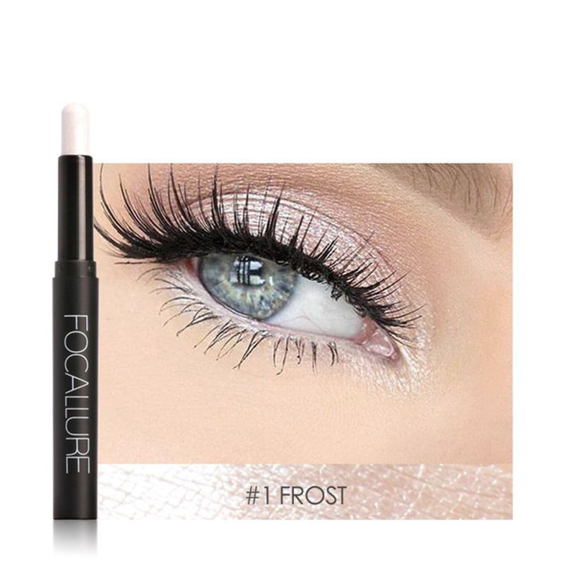 FOCALLURE-Metallic-Eyes-Make-Up-Liner-Pen-Lidschatten-Bleistift-Aufkleber-W-S9R7 Indexbild 3