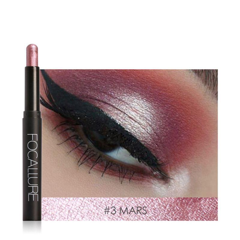 FOCALLURE-Metallic-Eyes-Make-Up-Liner-Pen-Lidschatten-Bleistift-Aufkleber-W-S9R7 Indexbild 10