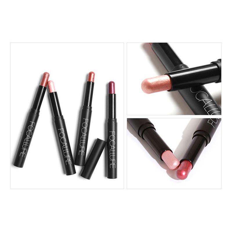 FOCALLURE-Metallic-Eyes-Make-Up-Liner-Pen-Lidschatten-Bleistift-Aufkleber-W-S9R7 Indexbild 13