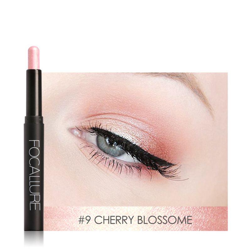FOCALLURE-Metallic-Eyes-Make-Up-Liner-Pen-Lidschatten-Bleistift-Aufkleber-W-S9R7 Indexbild 17