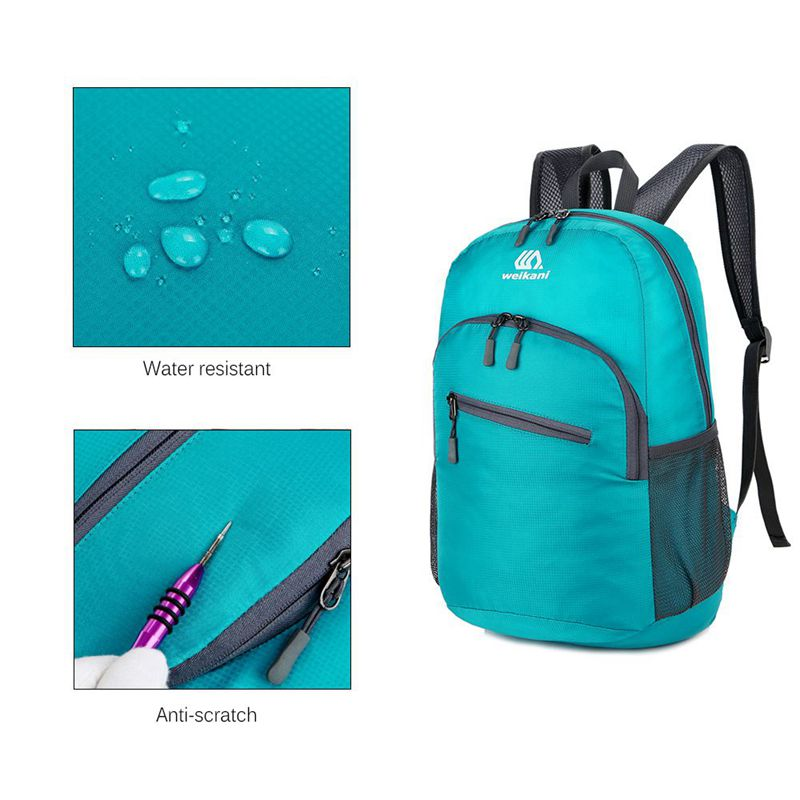 WEIKANI-Nouveau-Ordinateur-Portable-Sac-A-Dos-Hommes-Femmes-18L-Emballable-L-4I1 miniature 6