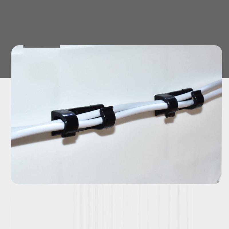 Mehrzweck Draht Kabel Kabel Ordentlich Halter Drop Clip Organizer Linie Fixer CJ