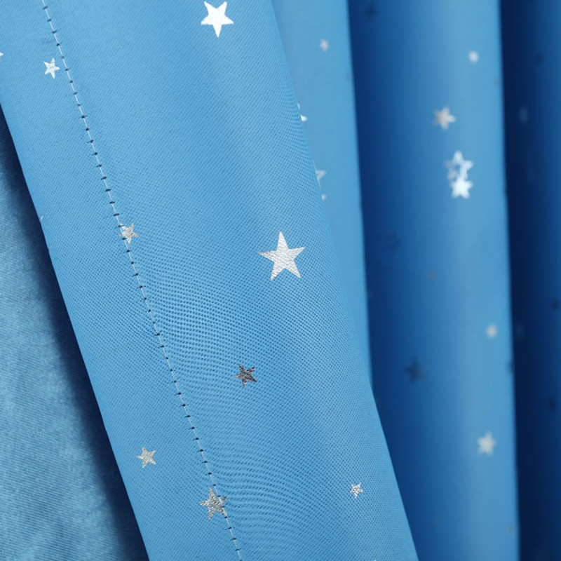 Cortinas para ninos de estrellas brillantes Cortinas opacas de sala de esta T1W5 6