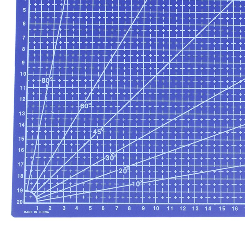 Cutting Supplies Latest Collection Of A4 Grid Lines Cutting Mat Craft Card Fabric Leather Paper Board 30*22cm High Quality Cutting Mats