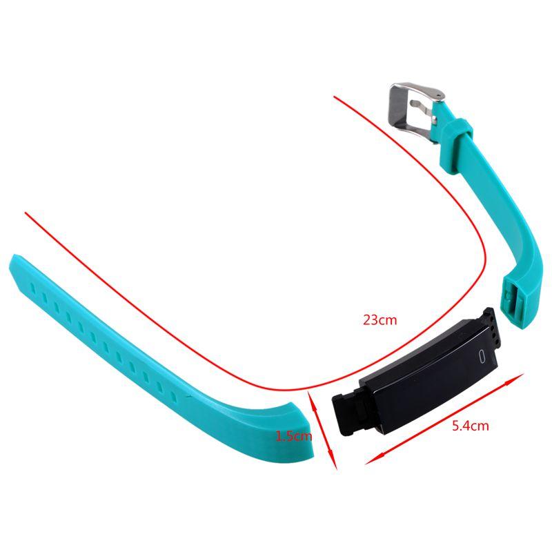 1X-ZY68-Pulsera-inteligente-Rastreador-de-fitness-Contador-de-pasos-Reloj-a-H8C4 miniatura 12