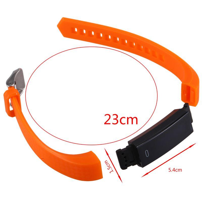 1X-ZY68-Pulsera-inteligente-Rastreador-de-fitness-Contador-de-pasos-Reloj-a-H8C4 miniatura 30