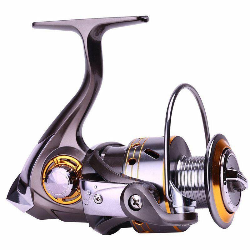 6X (Spinning Cocheretes de pesca Diao de Lai con manija izquierda derecha 5.2  1 Gear Rata Y2A1