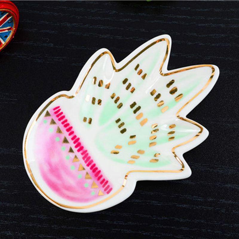 1Pc-Ceramic-Sauce-Dessert-Dish-Plate-Decorative-Jewelry-Holder-Storage-Tray-L3Q1