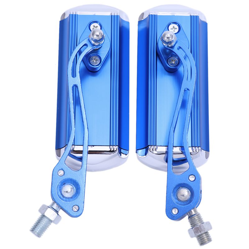 2X(2Pzs     Par Espejo retrovisor de bicicleta de aleacion de aluminio expandi R9) ae76af